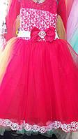 Детское нарядное платье Герда. Длинное. 6 лет