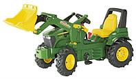 Детский трактор с ковшом Rolly Toys 710126 (резиновые колеса )
