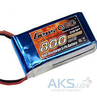 Gens Аккумулятор Ace LiPO 11,1 В 800 мАч 3S 40C (B-40C-800-3S1P)