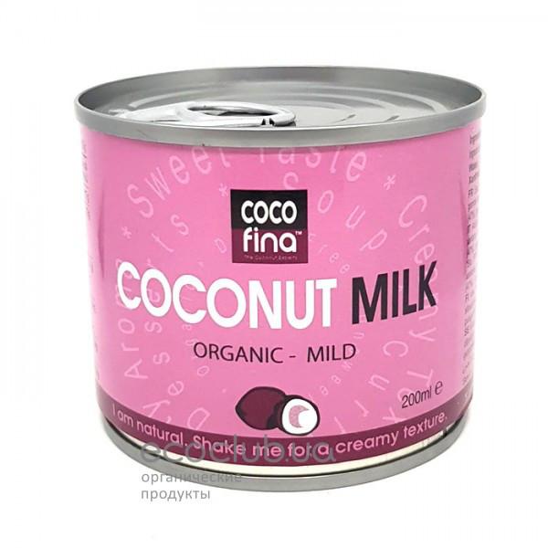 Сливки кокосовые органические Coco Fina 200мл