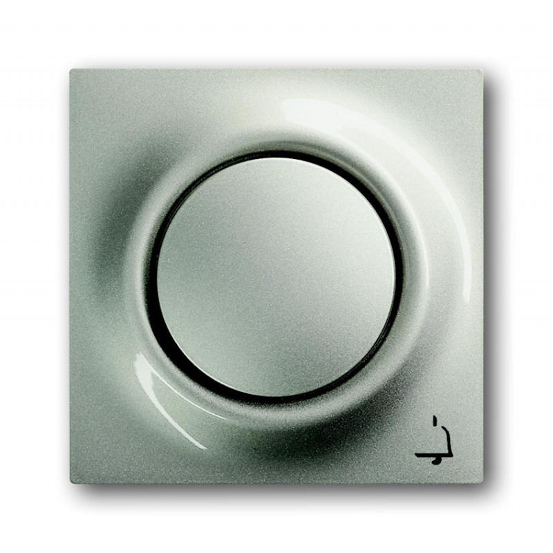 """Клавиша для выключателя с символом """"звонок"""" ABB Busch Jaeger Impuls 1789 KI-79 шампань металлик"""