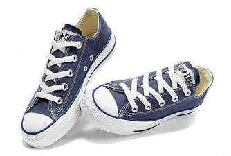 Кеды, Converse All Star Low Cиние (36, 38, 39, 43, 44, 45 р.)