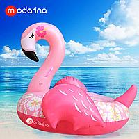 Modarina Надувной матрас Фламинго Цветочек 150 см