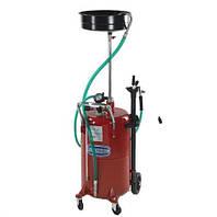 Комбинированная установка для замены масла емкостью 80л и стальным сливом для масла 10л 003195 Flexbimec
