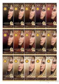 Краска для волос Color Time 50 темный махагон