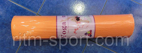 Коврик для йоги и фитнеса Yoga mat 6 мм, фото 2