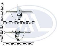 Стеклоподъемник ВАЗ 2106 перед. электрический реечного типа (к-т 2 шт.) с моторедуктором, уст. к-т