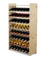 Винна полиця дерев'яна RW-3-56P для пляшок 56, фото 1