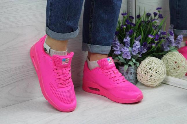 Кроссовки женские Nike Air Max Hyperfuse.Ярко-розовые, фото 2