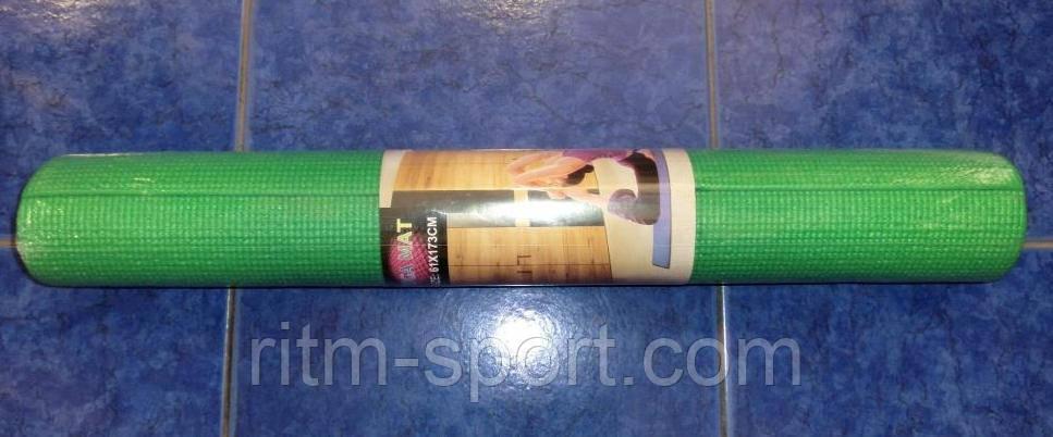Коврик для йоги и фитнеса Yoga mat 4 мм