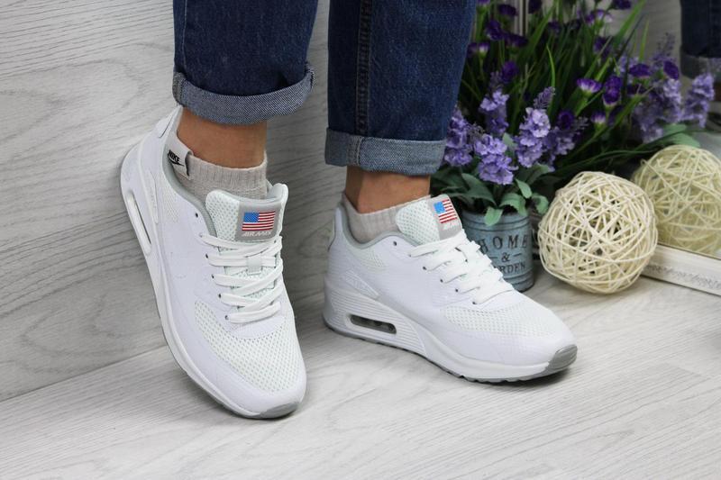 Кроссовки женские Nike Air Max Hyperfuse.Белые