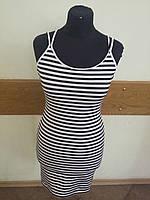Летние платье в полоску тельняшка H&M