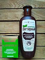 Акрустал ВЧГ 65г крем и шампунь Дегтярный Невская косметика (250 мл) Набор.