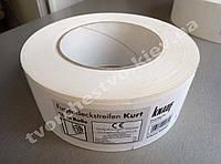 Knauf Kurt, лента КУРТ Кнауф, 50мм 25м. Бумажная лента для швов.