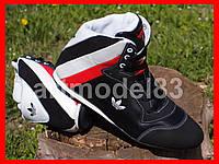 Ботинки сапоги кроссовки мужские зимние Натуральная кожа, мех. ADIDAS Вьетнам 41,46