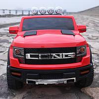 Эл-мобиль Т-7819 RED джип на р.у. 12V7AH мотор 2*30W 121*76*73 ш.к. /1/