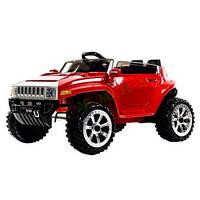 Эл-мобиль T-7825 RED джип на Bluetooth 2.4G Р/У 2*6V4.5AH мотор 2*25W с MP3 92.9*58*49 ш.к. /1/