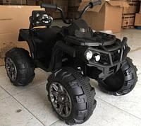 Эл-мобиль T-733 BLACK квадроцикл 12V7AH мотор 2*45W с MP3 103*68*73 ш.к. /1/
