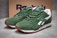 Кроссовки мужские Reebok Classic, зеленые (13262) размеры в наличии ►(нет на складе), фото 1