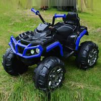 Эл-мобиль T-737 BLUE квадроцикл 12V7AH мотор 2*35W с MP3 106*62*40 ш.к. /1/