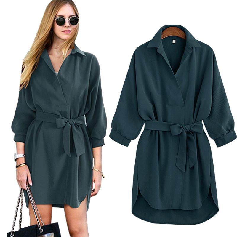 23df247e5d3 Женское платье-рубашка AL-3051-40  продажа