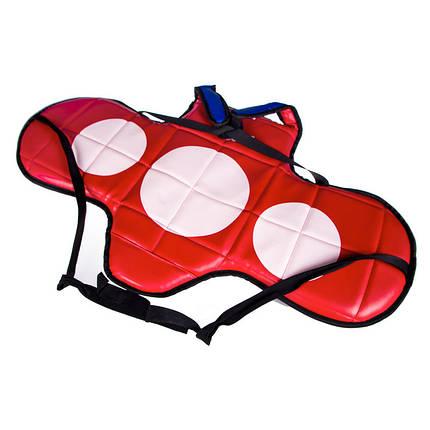 Защита груди BWS, PVC, красно-синяя BWS11-S, фото 2