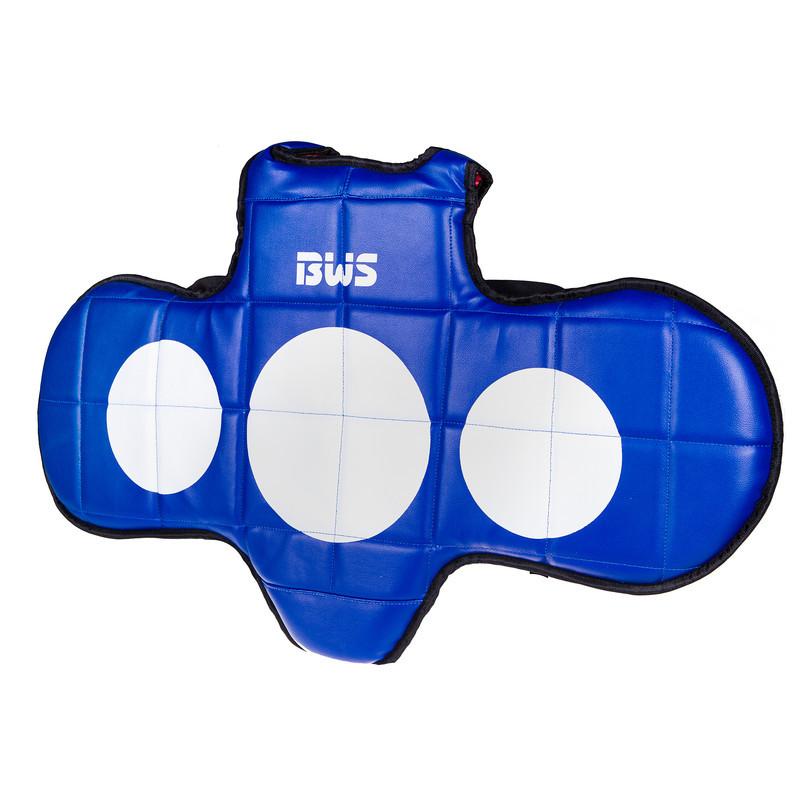 Защита груди BWS, PVC, красно-синяя BWS11-S