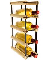 Винная полка RW-8 1x4 для 4 бутылок, фото 1