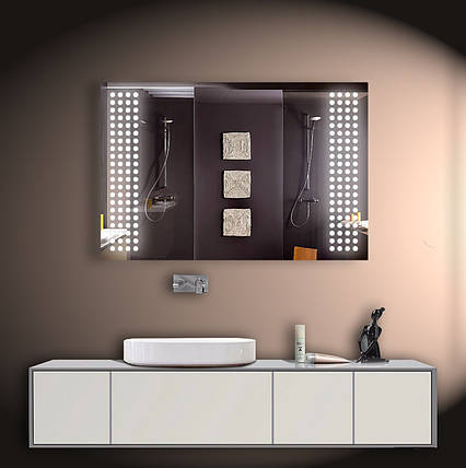 Зеркало LED со светодиодной подсветкой ver-3094 1200х800 мм, фото 2