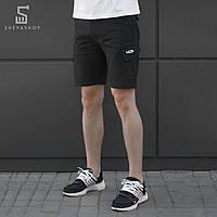 Мужские карго шорты beZet zipp black '18, черные