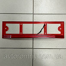 Рамка номера задня з підсвічуванням червона Speed-Master