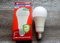 Светодиодная лампа A67 20W PA LS-32 E27 4000К ELECTRUM