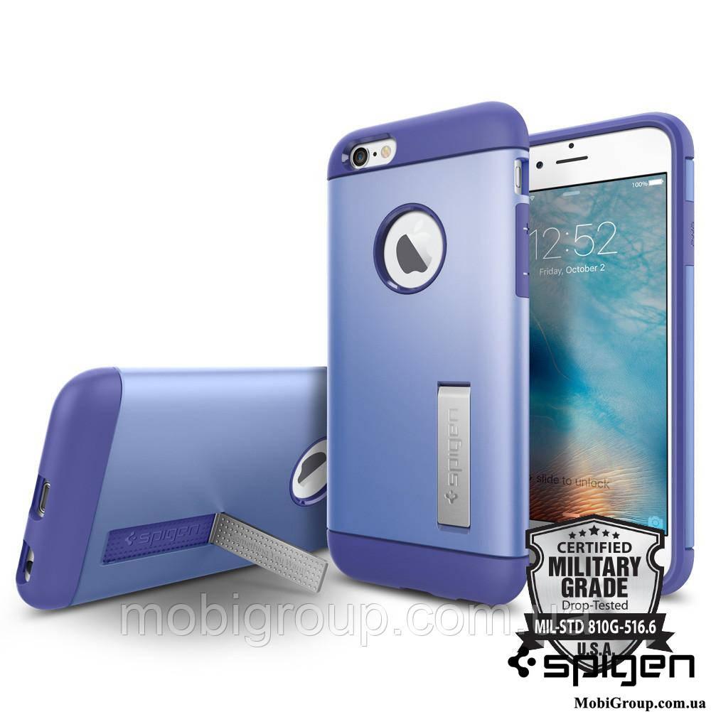 Чехол Spigen для iPhone 6s / 6 Slim Armor, Violet , фото 1