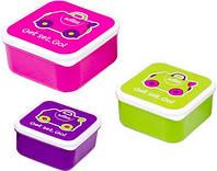 Набор контейнеров для еды Trunki, розовый (0300-GB01)