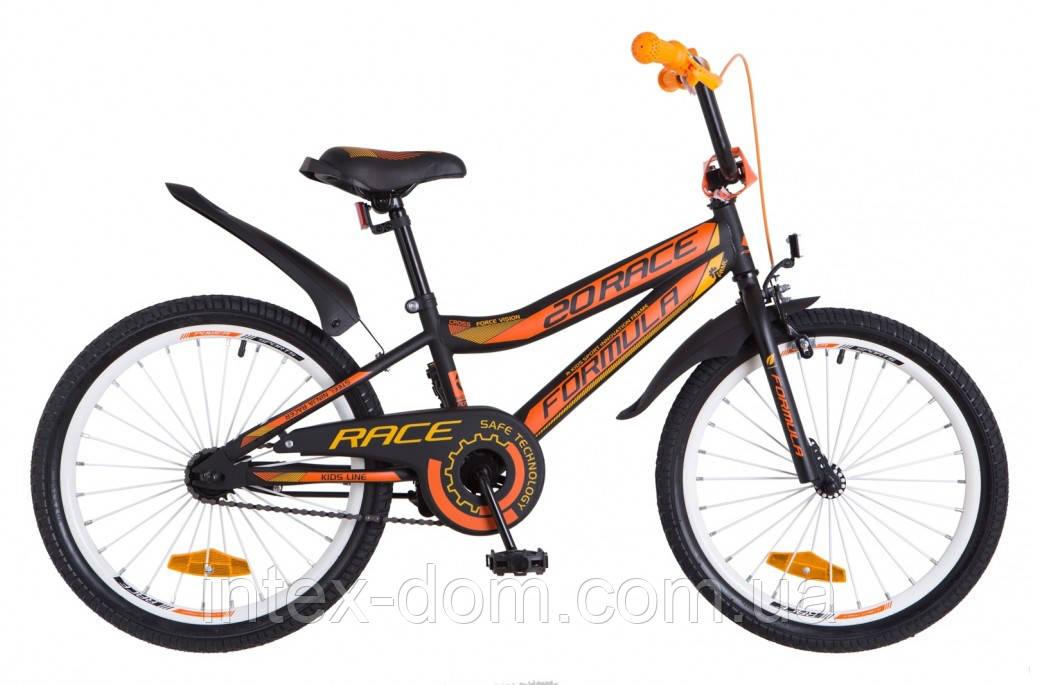 """Велосипед детский двухколесный 20 дюймов FORMULA RACE 20"""" OPS-FRK-20-058"""