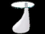 Журнальний кофейний стіл зі скла у вітальню Lula Signal , фото 2