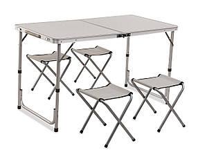 Стол складной туричтический Acamper с стульчиками 1+4
