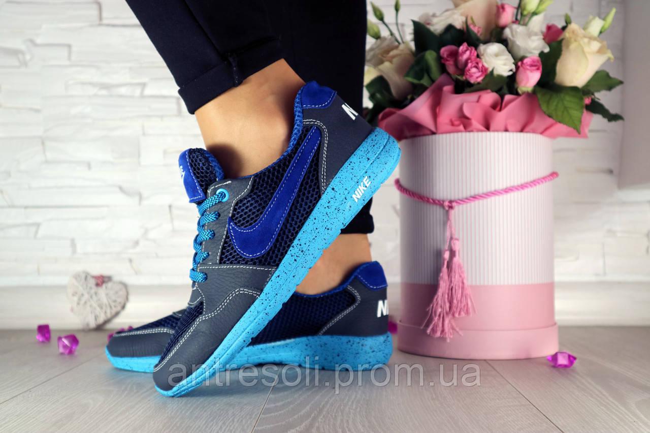 Женские кроссовки Nike Синий\Голубой 10749