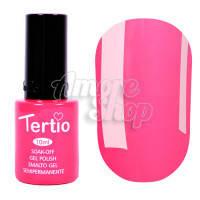 Гель-лак Tertio №015 (ярко-розовый, эмаль), 10 мл