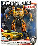 Большой Бамблби 30 см со звуком и светом - Bumblebee, TF3, MechTech, Leader, Hasbro