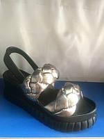 Женские кожаные босоножки Donna Ricco, фото 1