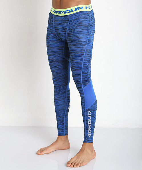 Леггинсы Under Armour Heatgear Compression Legging (CoolSwitch) 1271331-907 Синие XXL (1271331-907)