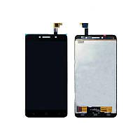 LCD Дисплей+сенсор Alcatel One Touch 8050D Pixi 4 (6) Dual Sim, черный