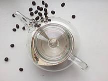 Заварочный чайник Греческий стеклянное сито и крышка, 500 мл, фото 3