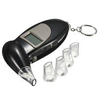 Персональный алкотестер с мундштуками Digital Breath Alcohol Tester