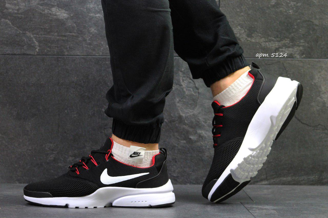 Мужские кроссовки Nike Air Presto Fly Uncaged (8 цветов), Черно-белые с 65f6d00eaea