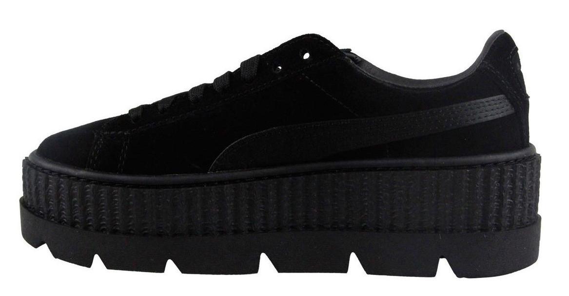 Женские кроссовки Puma Rihanna Platform Black - Интернет-магазин обуви  Parus Shop в Киеве d8abc7dbac9
