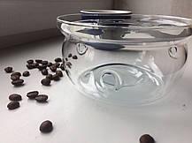 Стеклянная подставка-печка к заварочному чайнику, фото 2