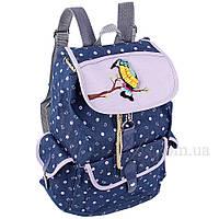 Рюкзак женский Usmivka школьный 14 л синий 50567, фото 1