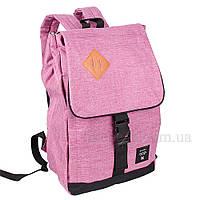 Рюкзак для ноутбука Usmivka женский 16 л розовый 50509